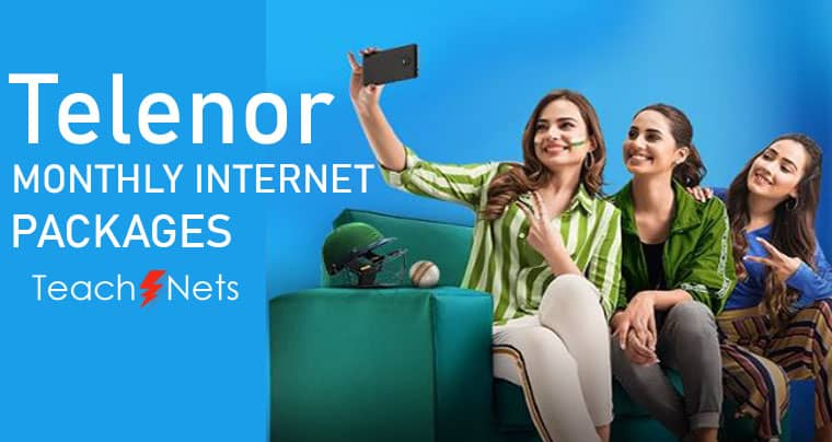 Telenor Monthly Internet Package | Telenor Net Package