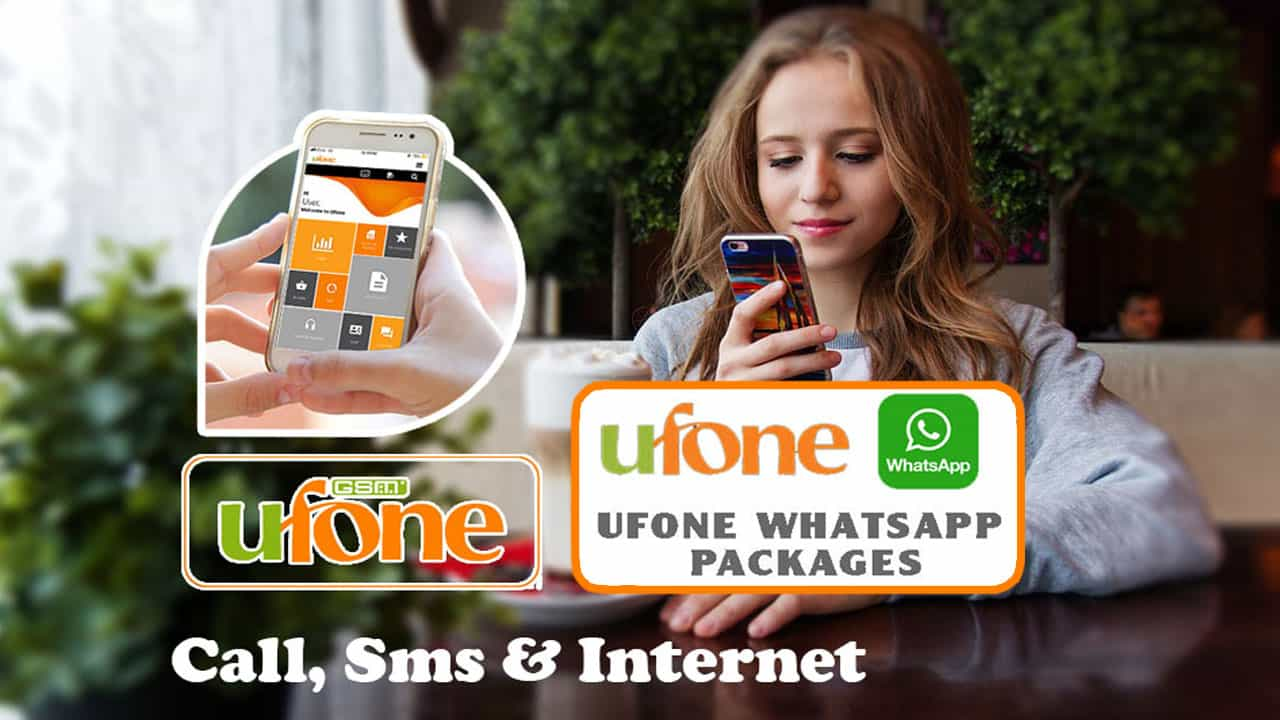 Ufone free WhatsApp Package - Ufone 4G Packages