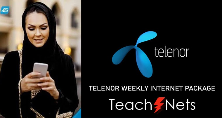Telenor Weekly Internet Package - Telenor Net Packages