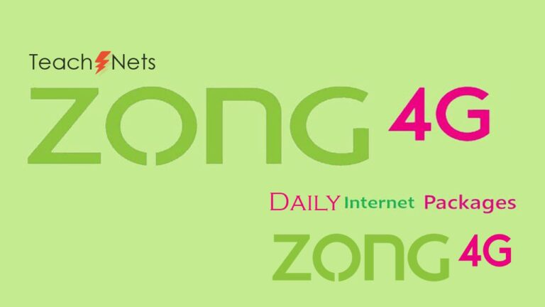 Zong Daily Internet Package - Zong Net Packages