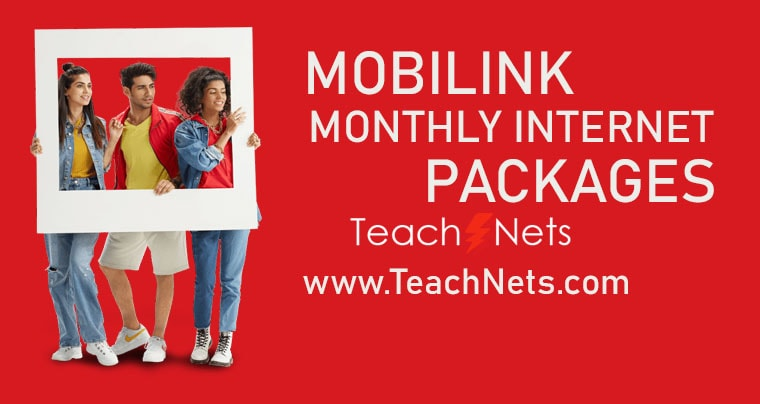 Jazz Monthly Internet Package | Mobilink Internet Packages