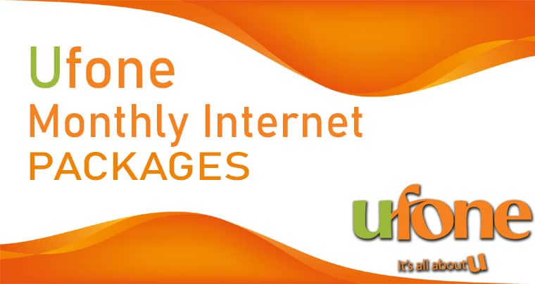 Ufone Monthly Net Package | Ufone Net Packages