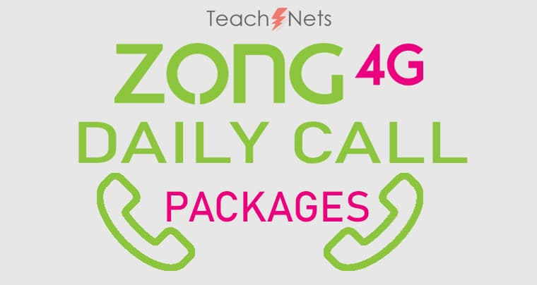 Zong Daily Call Package | Zong Call pkg